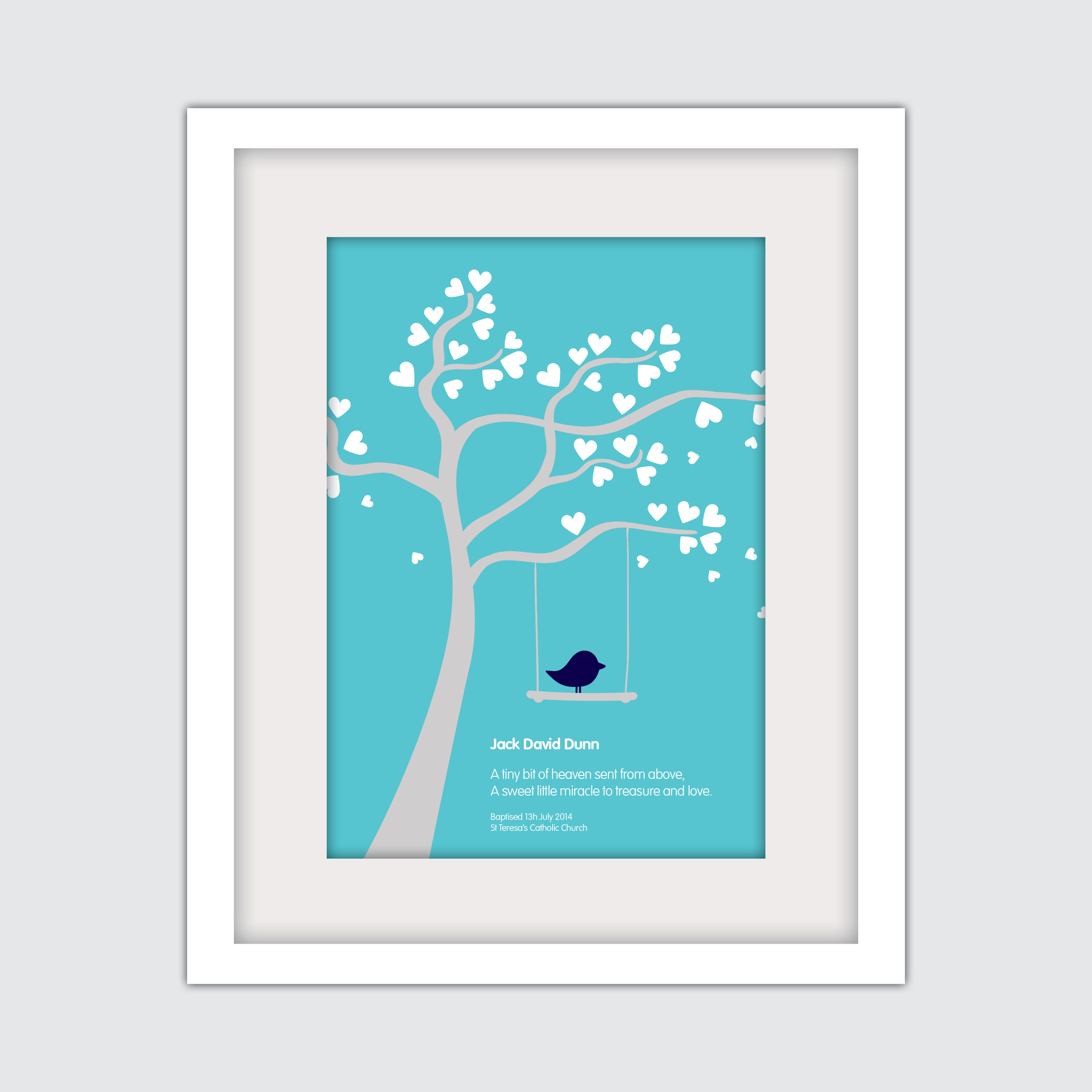 Baptism – Tree and Bird Swing